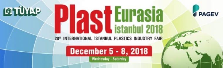 GT cranes at Plast Eurasia fair