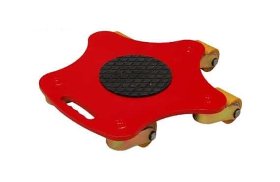Pattini rotanti con rulli in poliuretano