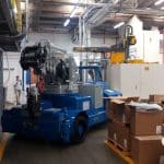 Macchina sollevamento stampi portata 25.000 kg