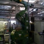 Macchina per sollevamento stampi con portata fino a 2.500 kg.