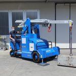 Elektrický jeřáb s maximální nosností do 5 000 kg.
