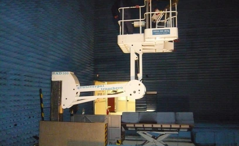 Speciální zdvihací zařízení RAD 300
