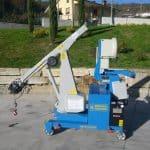 Jeřáb pro zvedání forem s nosností až 300 ton