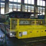 Jeřáb pro zvedání forem s nosností až 1.600 ton.