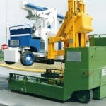 Jeřáb pro zvedání forem s nosností až 1.000 ton.