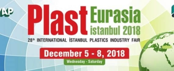 GT cranes at Plast Eurasia fair