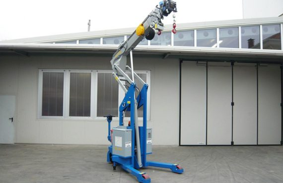 The GIA3000 mobile crane is going to be delivered to Novartis Singapore as a full stainless steel version