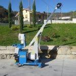 Série de guinhos hidráulicos com capacidade de 200 кг. a 50 t instaláveis no MINIDREL séries S e B.