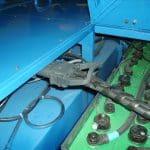 Sistema de troca de bateria para elevação de guindastes.