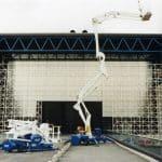 Серия самоходных подъемных платформ с грузоподъемно- стью до 300 кг и рабочей высотой до 20 м.
