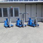 Краны для обработки пресс-форм с грузоподъемностью до 750 кг.