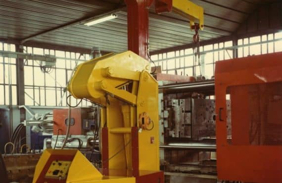 Краны для обработки пресс-форм с Грузоподъемность до 15.000 кг.