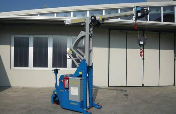 Для промышленной обработки с максимальной нагрузкой 2000 кг.