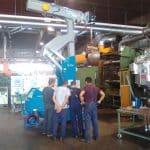 Краны для обработки пресс-форм с Грузоподъемность до 6.000 кг.