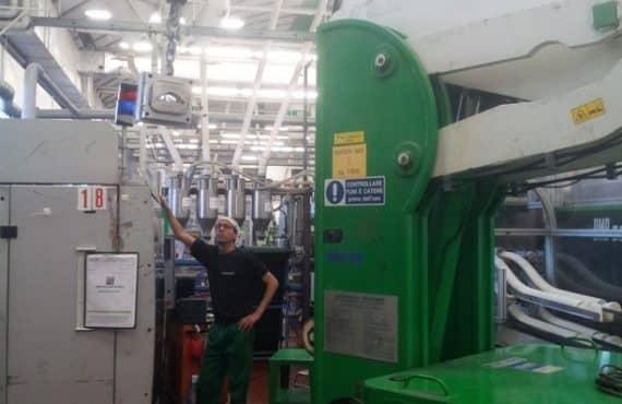 Краны для обработки пресс-форм с Грузоподъемность до 7.500 кг.