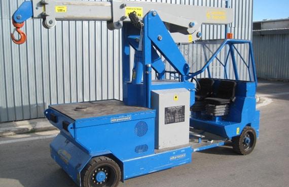 Guindastes para o setor de pneus Minidrel 90B_MSR
