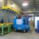 Для промышленной обработки с максимальной нагрузкой 30.000 кг.