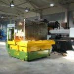 Для промышленной обработки с максимальной нагрузкой 35.000 кг.