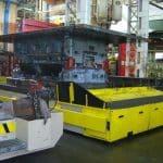 МОБИЛЬНЫЕ КРАНЫ для обработки пресс-форм с усилием зажима До 1.600 тонн