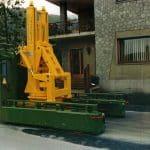МОБИЛЬНЫЕ КРАНЫ для обработки пресс-форм с усилием зажима До1.000 тонн.
